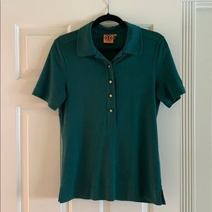 Tory Burch  button up polo tee